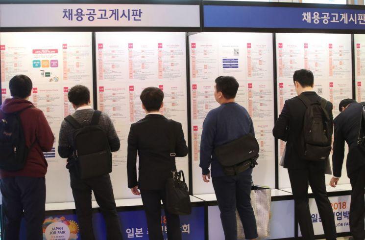 취업박람회 자료사진 [이미지출처=연합뉴스]