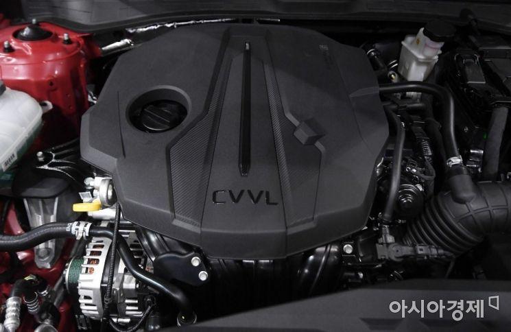 [포토] 현대차의 신규 스마트스트림 가솔린 2.0엔진