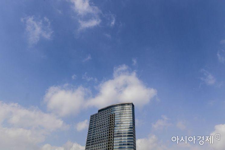 [포토] 미세먼지 없는 하늘 이정도