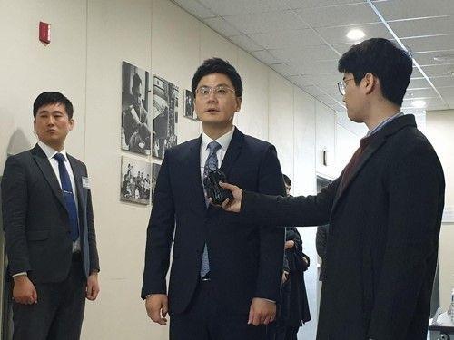 YG엔터테인먼트 양민석 대표이사가 주주총회를 앞두고 입장을 밝혔다/사진=연합뉴스