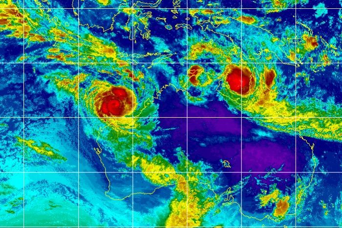 호주에 초대형 '쌍둥이 사이클론' 접근…2000명 이상 대피