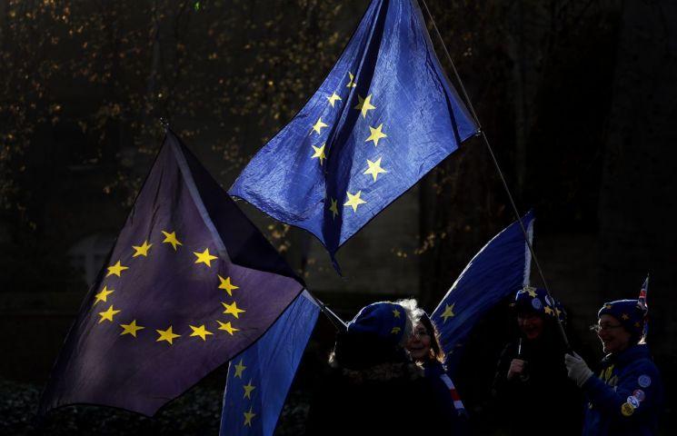 EU 상징하는 깃발. [이미지출처=AP연합뉴스]