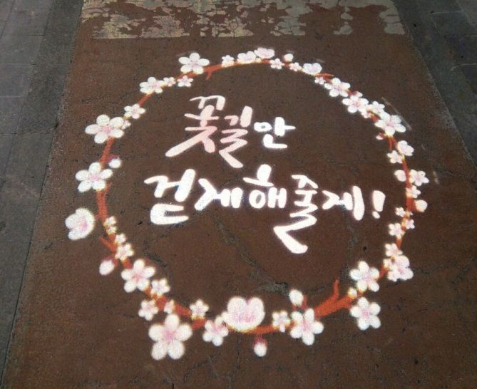 여의도 봄꽃길 새단장