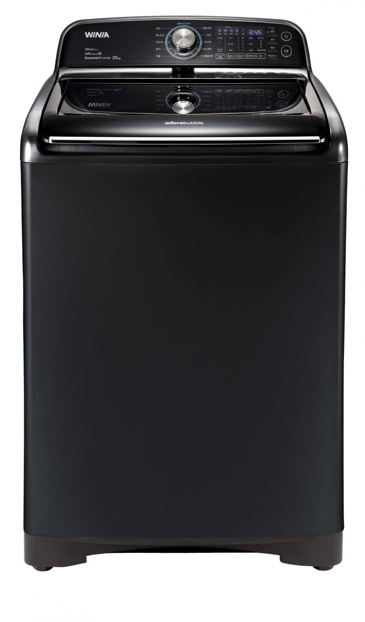 대유위니아, 20㎏ 용량 '마이크로 버블 세탁기' 출시