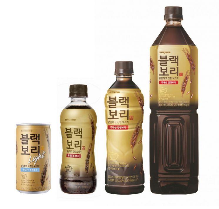 하이트진로음료 '블랙보리'…15개월만에 누적판매 5000만병