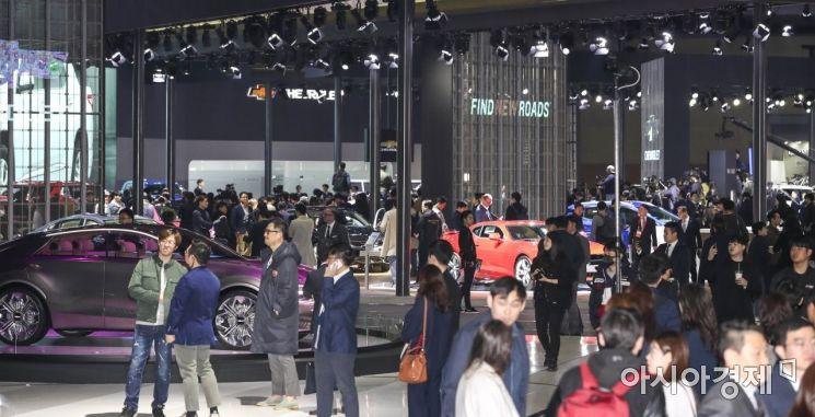 [포토] 2019 서울프레스데이, 다양한 자동차 가득