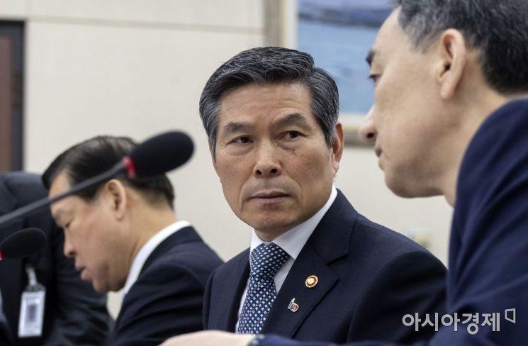[포토] 국회 출석한 정경두 국방부 장관