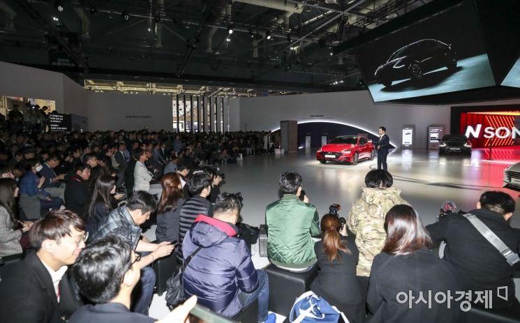 [포토]서울모터쇼 참가한 현대자동차