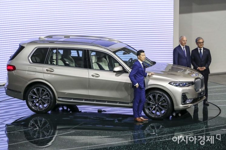 [포토]BMW 뉴X7 공개