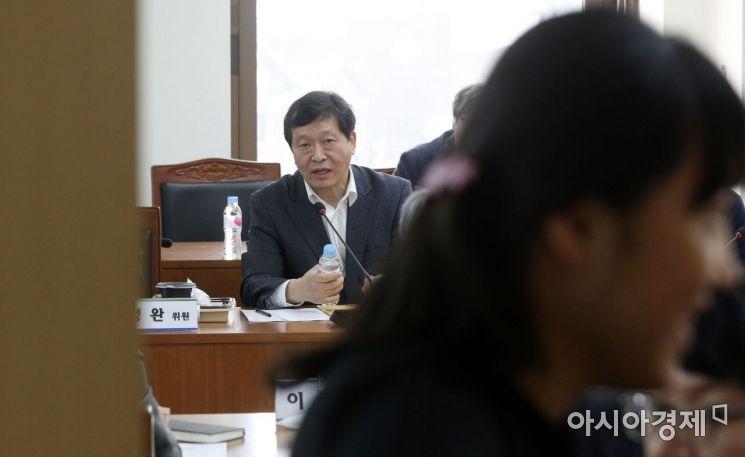 [포토] 발언하는 박수근 위원장