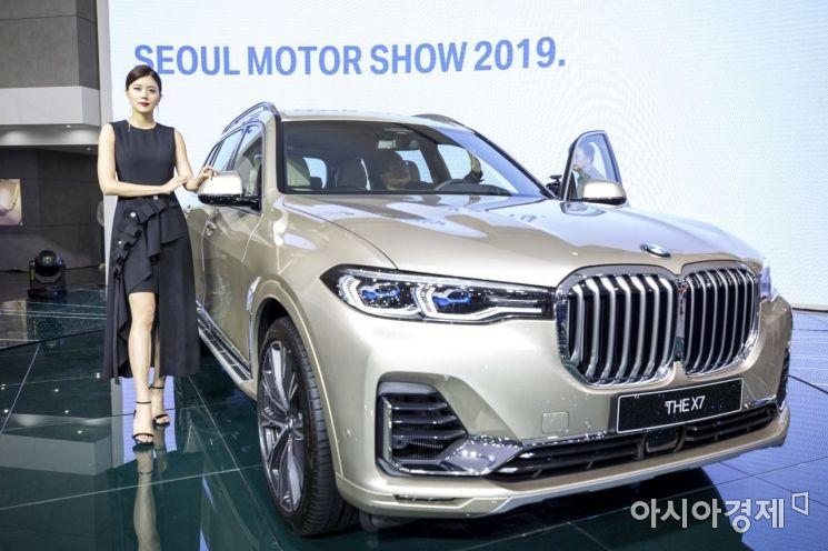 [포토] 서울모터쇼, BMW X7 공개