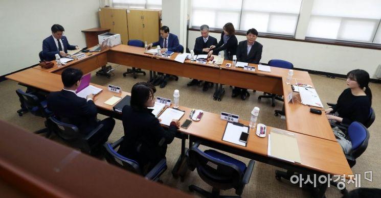 [포토]한국유치원총연합회 설립허가 취소 청문
