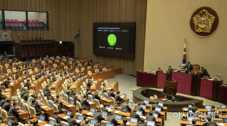 [포토] '조두순 법' 국회 본회의 통과