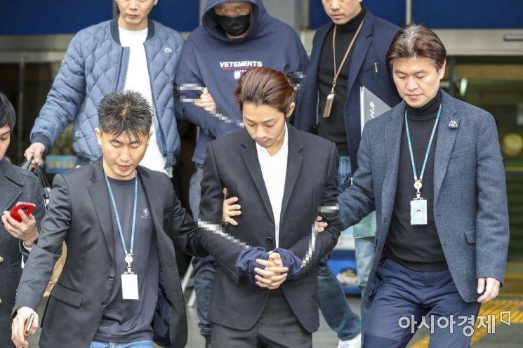 [포토] 정준영 검찰 송치