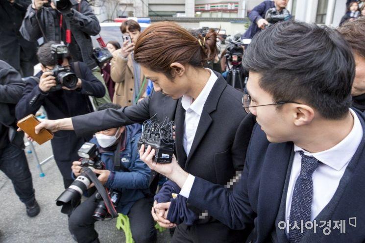 [포토] 검찰 송치 정준영, 불법촬영 어디까지...