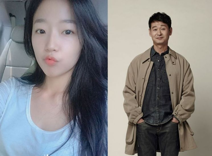 배우 조수향(왼쪽)과 박혁권 / 사진=조수향 인스타그램, 나무엑터스