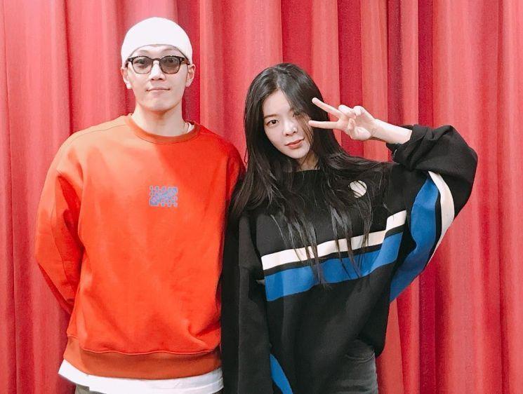 가수 김필과 장재인 / 사진='최파타' 인스타그램 캡처