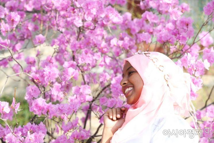 [포토]봄을 닮은 미소