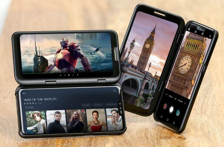 LG전자의 V50 5G 파상공세…4G 악몽은 없다(종합)