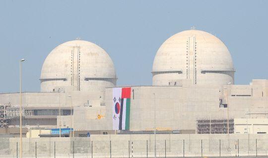 아랍에미리트(UAE) 바라카 원전 전경.(자료사진)