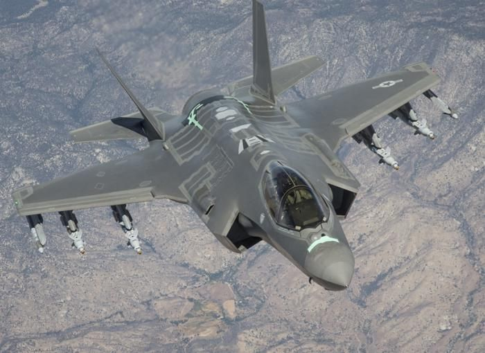 F-35 전투기의 모습(사진=록히드마틴사 홈페이지/www.lockheedmartin.com)