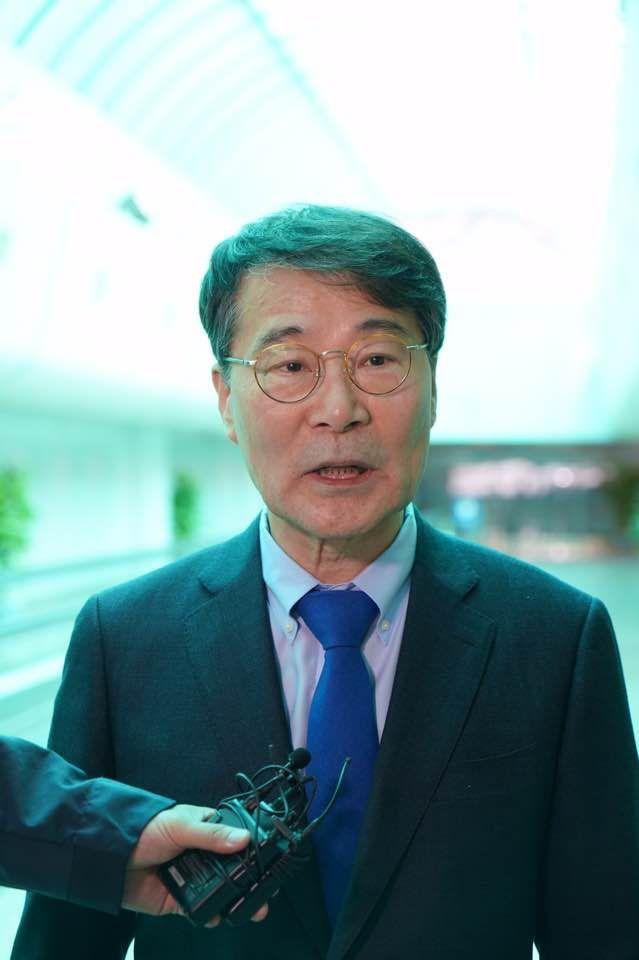 장하성 신임 주중 대사. 사진=베이징 특파원단 제공