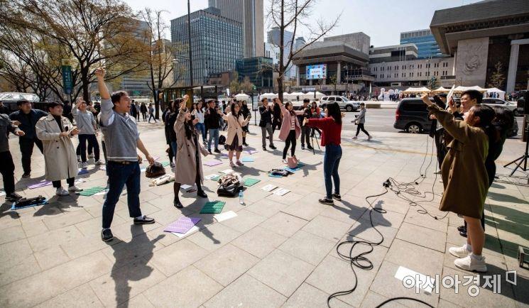 [포토] 북미정상회담 합의파기 규탄 집회