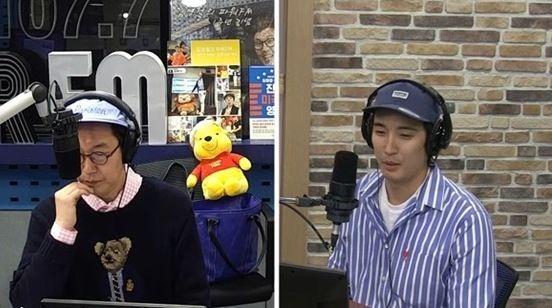 배우 강경준이 가족을 향한 애정을 과시했다/사진=SBS 파워FM '김영철의 파워FM' 화면 캡처