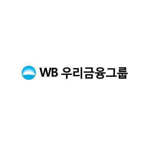 우리금융그룹이 출원한 'WB우리금융그룹' 상표. 사진은 특허청의 특허, 상표 등 검색 사이트 '키프리스'에서 캡처.