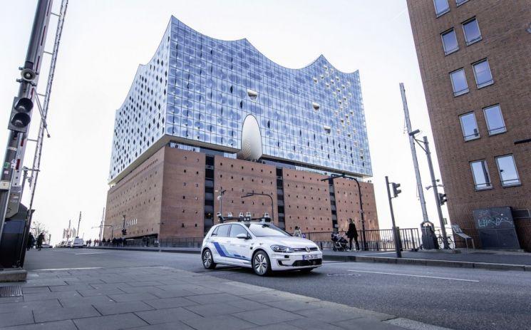 폭스바겐, 독일 도심서 '레벨4 자율주행車' 첫 테스트
