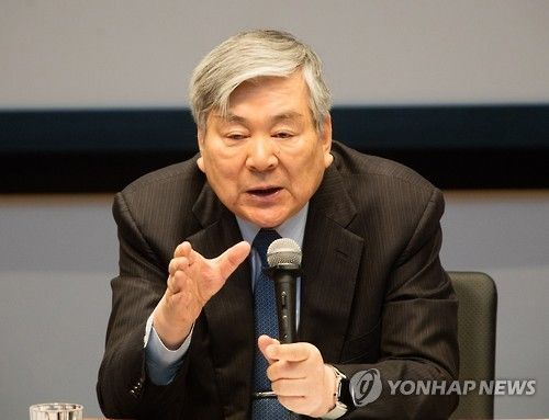 조양호 한진그룹 회장.사진=연합뉴스