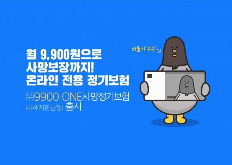 라이나생명, '월 9900원' 사망보장 온라인 정기보험 출시