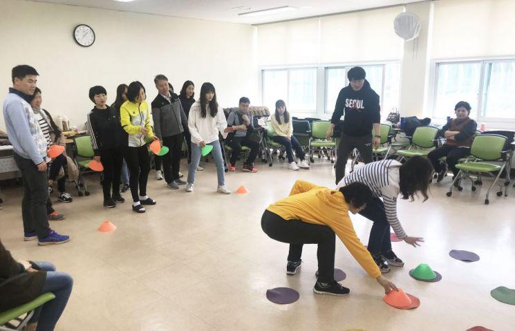 광주 교사들, 기후 변화 대응 '실내체육' 실습