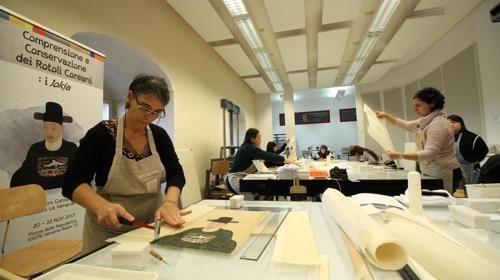 日 오사카에서 한국문화재 보존·복원 워크숍