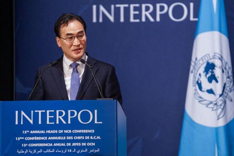 김종양 인터폴 총재, '태평양 도서국 경찰청장 회의' 참석…마약 공동대처
