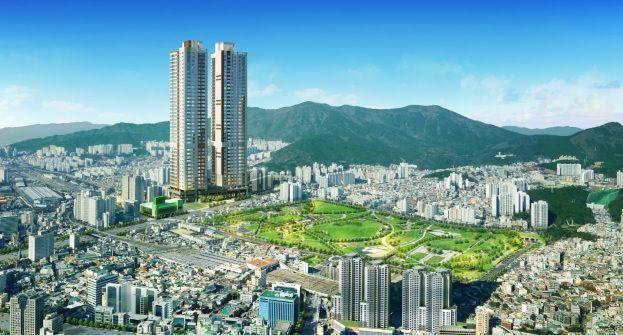 트리플역세권, 공원 품은 도심아파트 '서면 지원더뷰 파크' 12일 모델하우스 공개