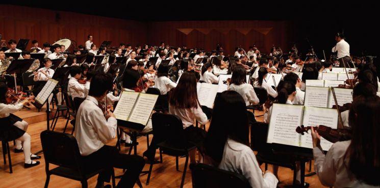 초등학생 만드는 '꿈의 오케스트라'