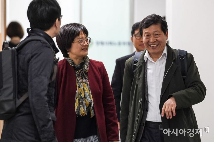 [포토] 노사관계제도개선위 참석한 박수근 위원장