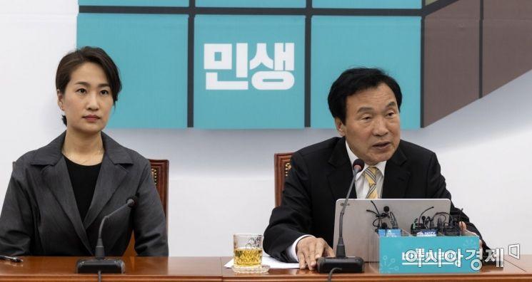 [포토] 손학규 대표, 외교안보 관련 기자회견