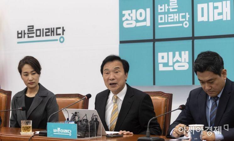 [포토] 기자회견 갖는 손학규 대표