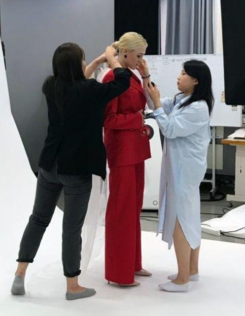 호남대 패션디자인학과 '패션도록' 스튜디오 촬영