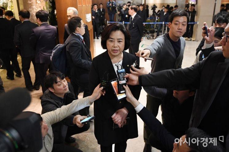 [포토] 조양호 회장 빈소 박순자  의원