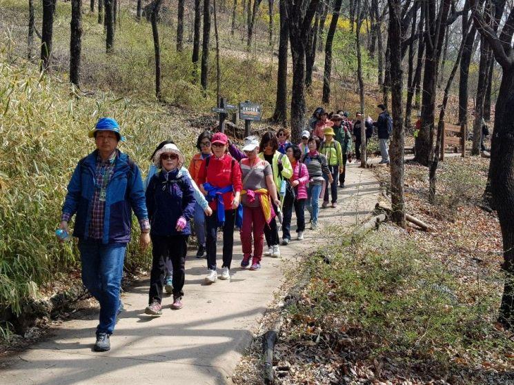 서대문, 은평, 마포 등 서울 서북3구 주민이 함께한 '소소한 걷기' 행사'