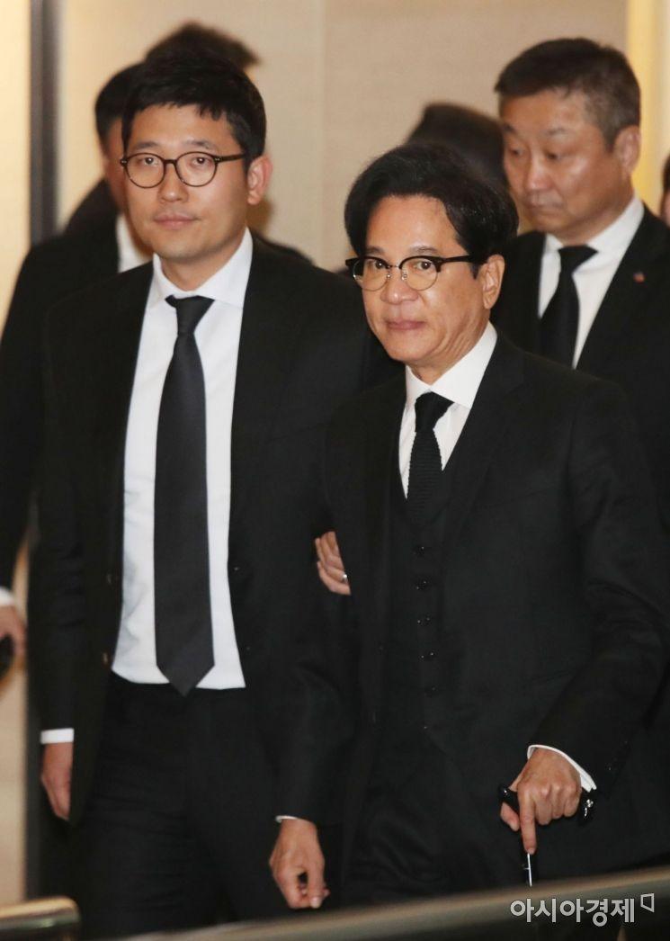 [포토] 조양호 회장 빈소 찾은 이재현 CJ 그룹회장