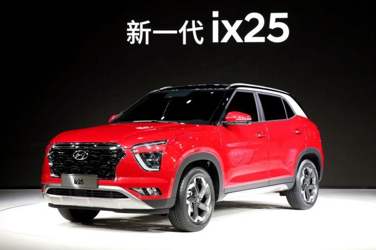 현대차 중국 전략형 SUV '신형 ix25'
