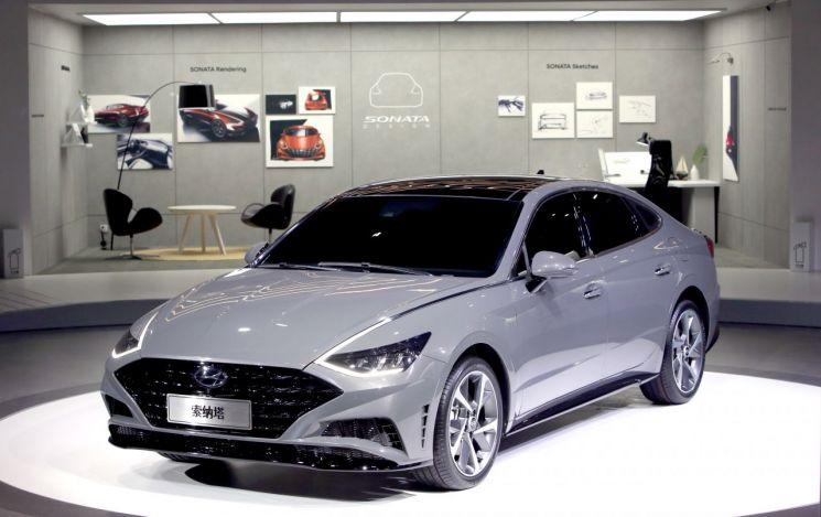 현대차, 중국형 신형 쏘나타