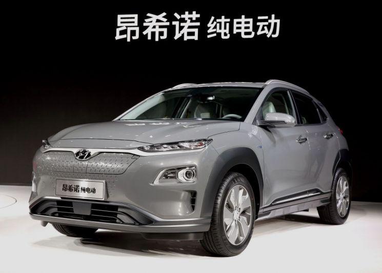 현대차, 중국 전략형 엔씨노 전기차
