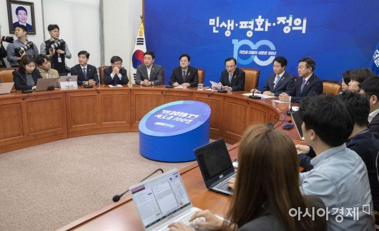 [포토] 이해찬 대표, 현안관련 기자회견