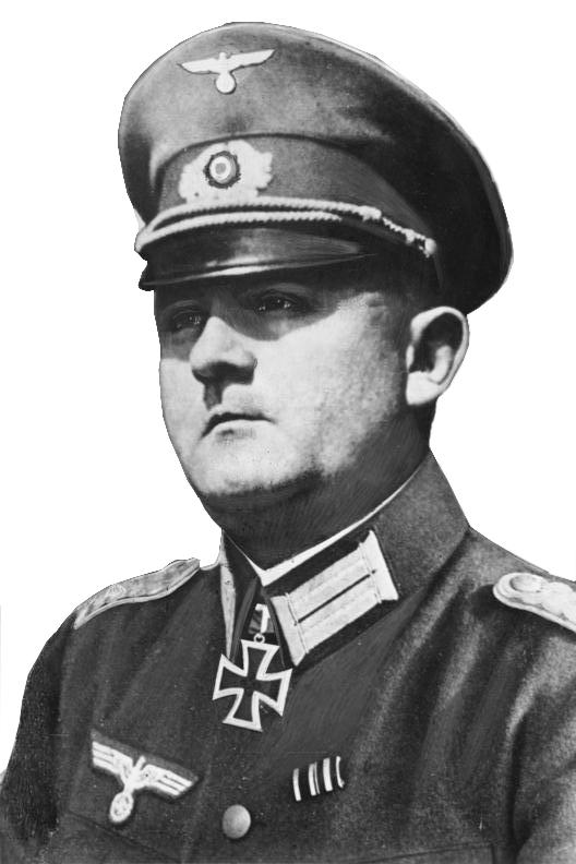 1944년 8월, 나치독일의 파리 방어군 사령관이자 히틀러의 파리 폭파명령을 거부해 파리의 구원자로 이름을 남긴 디트리히 폰 콜티츠(Dietrich von Choltitz) 장군의 모습.(사진=위키피디아)
