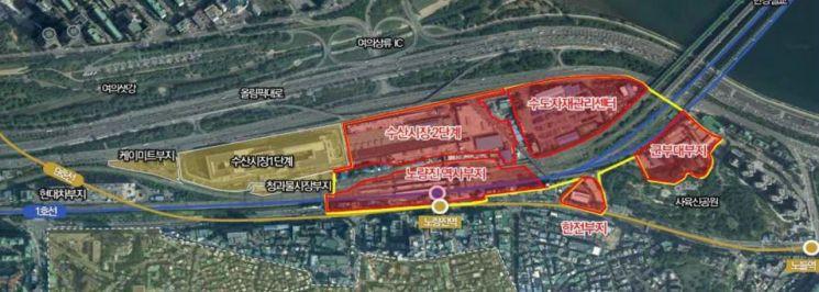 서울시, 한강철교 남단 저이용부지 활용안 구체화한다